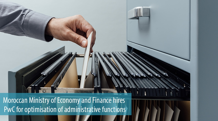 Moroccan Ministry of Economy and Finance hires PwC for optimisation of administrative functions.