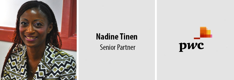 Nadine Tinen, Senior Partner for PwC in Sub-Saharan Francophone Africa