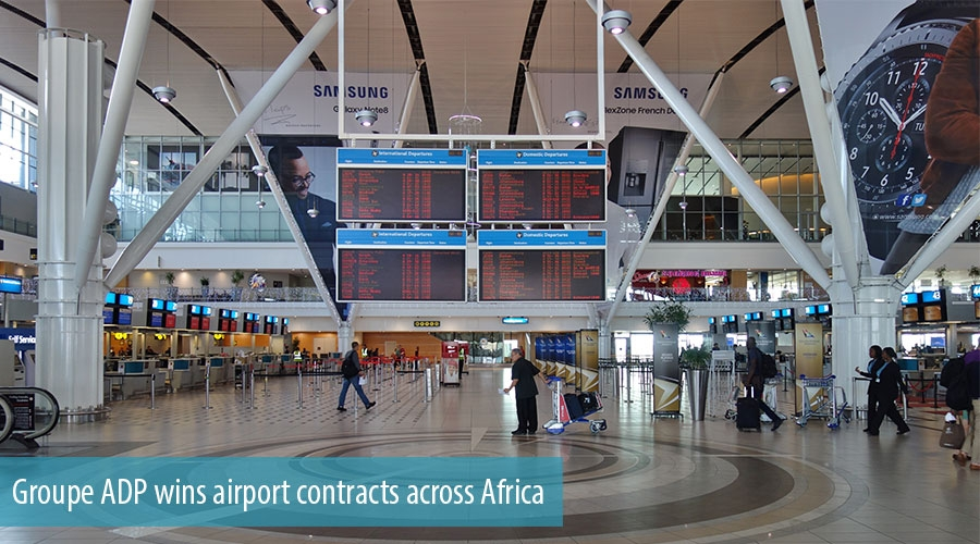 Groupe ADP wins airport contracts across Africa