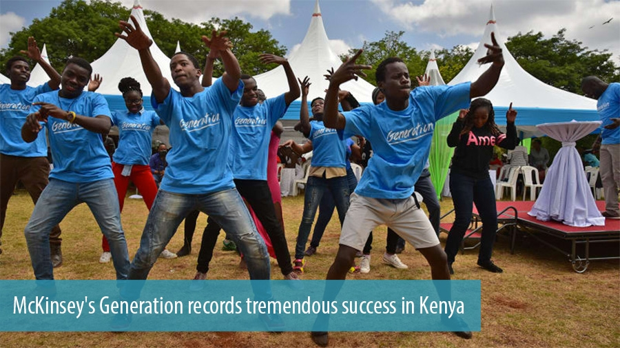 McKinsey's Generation records tremendous success in Kenya