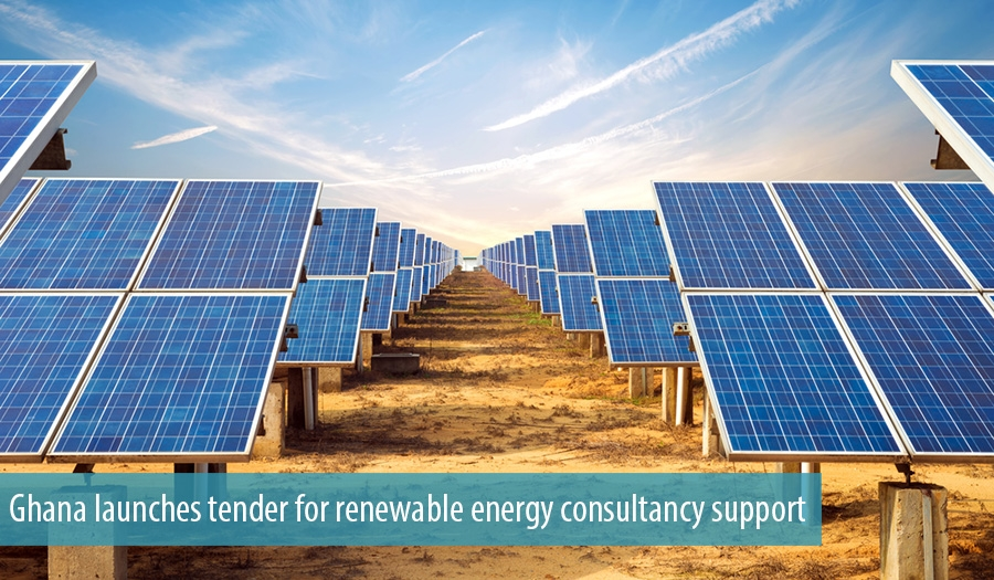 Ghana launches tender for renewable energy consultancy support
