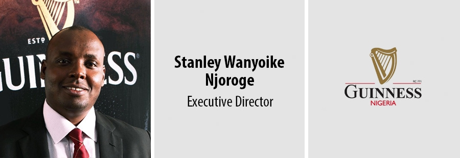 Stanley Wanyoike Njoroge, Executive Director at Guinness Nigeria