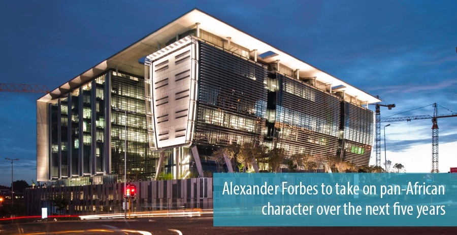 Alexander Forbes to take on pan-African character over the next five years