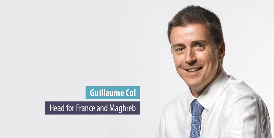 Guillaume Col, Head for France and Maghreb