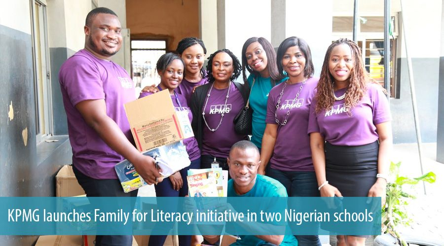 KPMG launches Family for Literacy initiative in two Nigerian schools