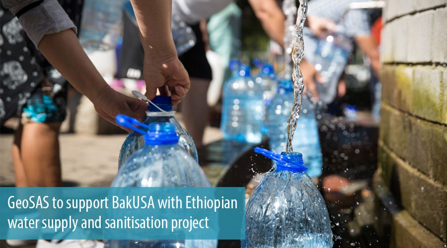 GeoSAS to support BakUSA with Ethiopian water supply and sanitisation project