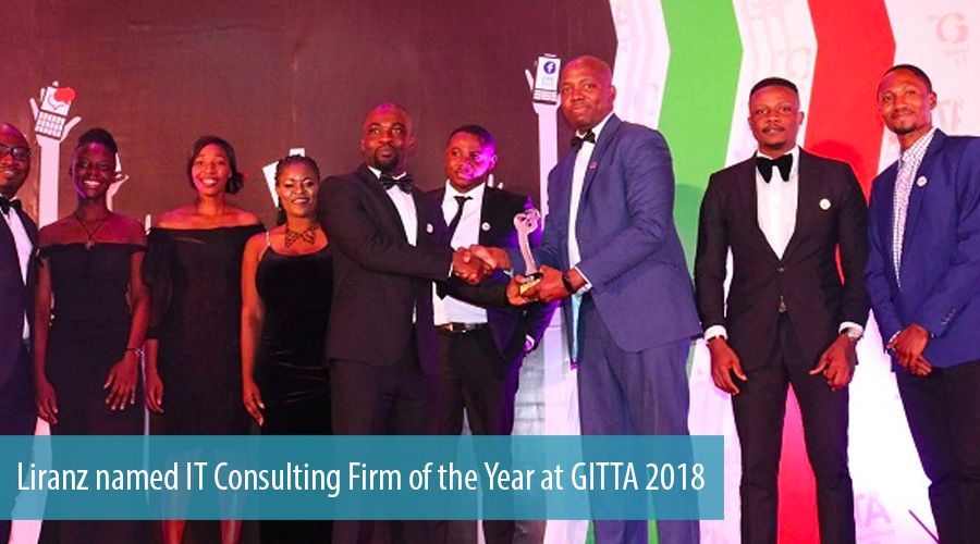 Liranz named IT Consulting Firm of the Year at GITTA 2018