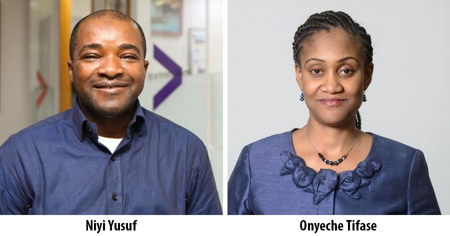 Niyi Yusuf and Onyeche Tifase