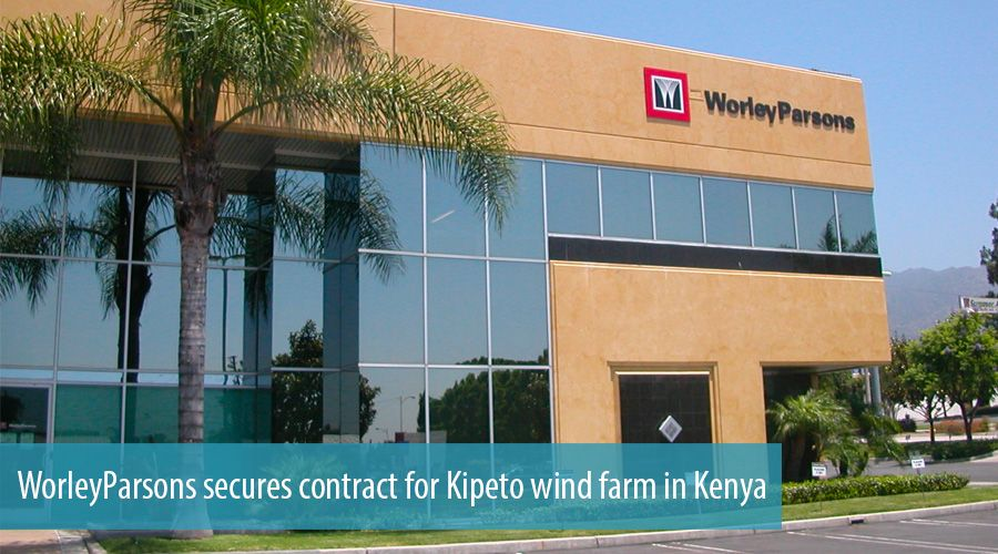 WorleyParsons secures contract for Kipeto wind farm in Kenya