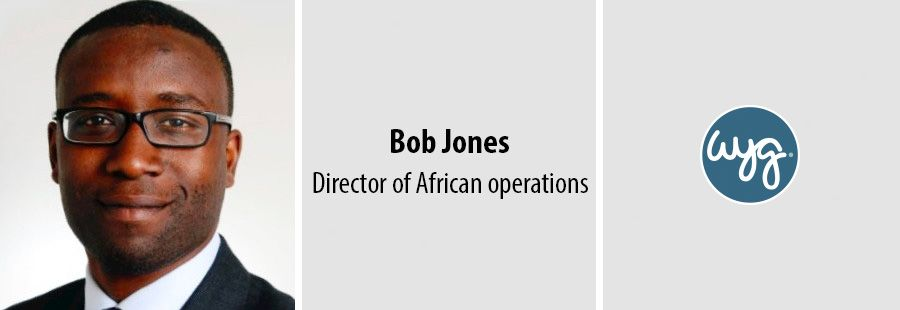 Bob Jones to take over as new director of African operations at WYG