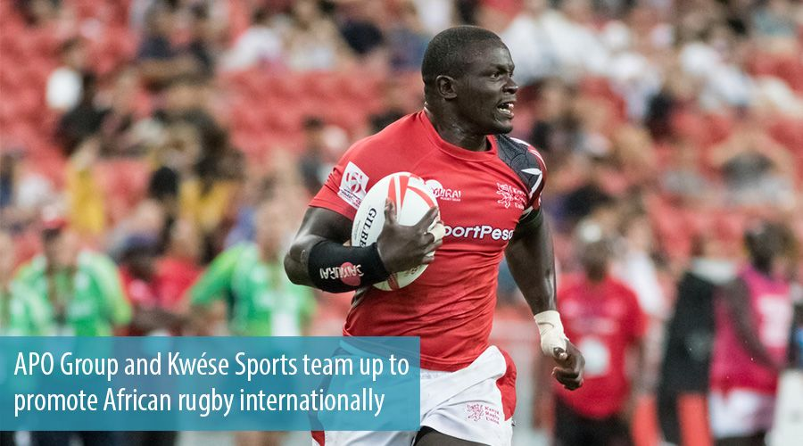 APO Group and Kwése Sports team up to promote African rugby internationally