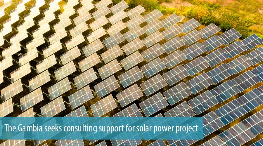 The Gambia seeks consulting support for solar power project
