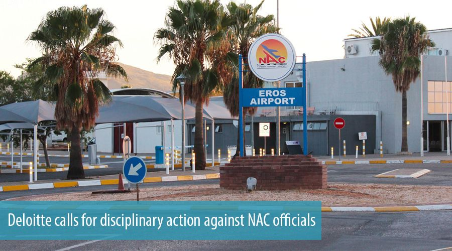 Deloitte calls for disciplinary action against NAC officials