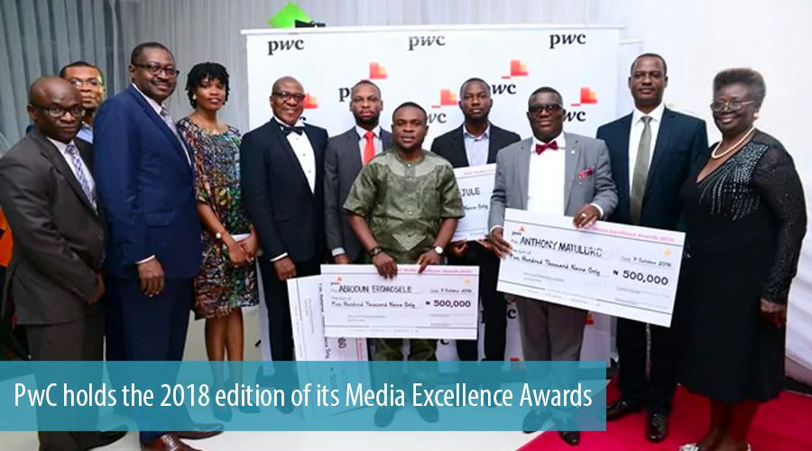 PwC holds the 2018 edition of its Media Excellence Awards