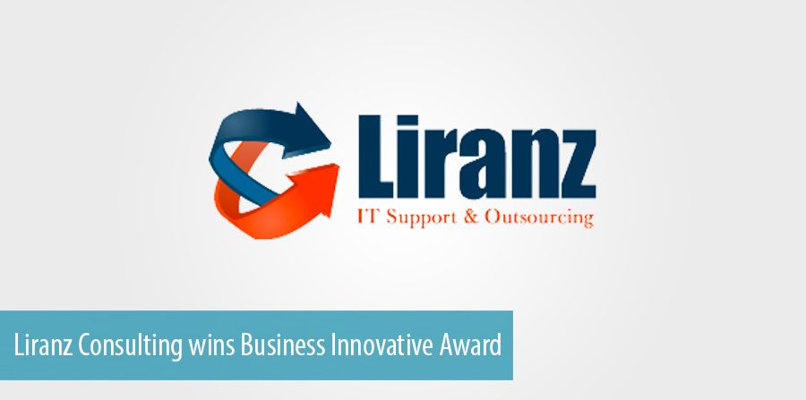 Liranz Consulting wins Business Innovative Award