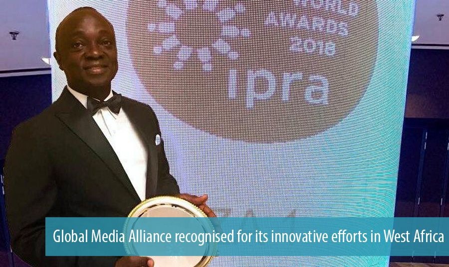 Global Media Alliance recognised for its innovative efforts in West Africa