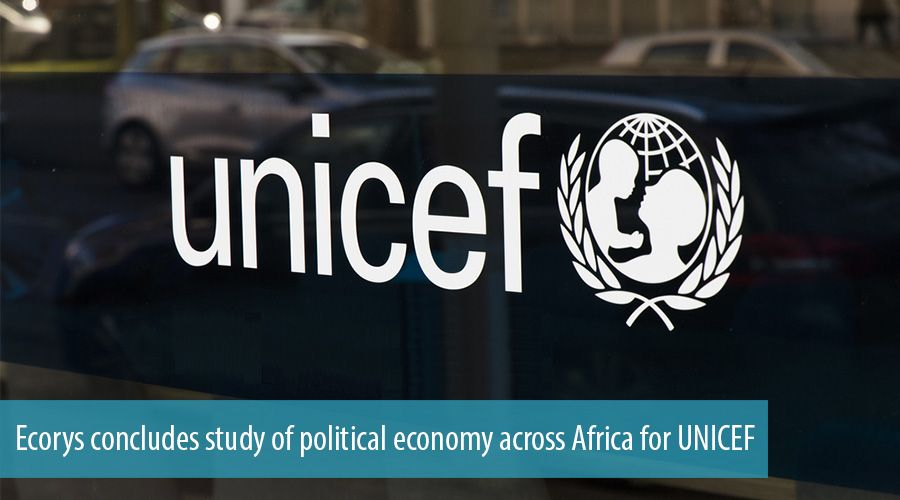 Ecorys concludes study of political economy across Africa for UNICEF