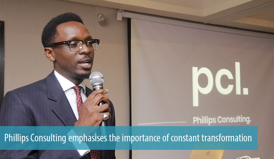 Phillips Consulting emphasises the importance of constant transformation