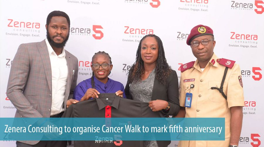 Zenera Consulting to organise Cancer Walk to mark fifth anniversary