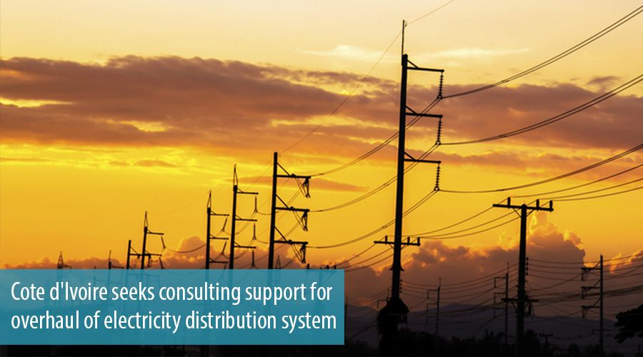 Cote d'Ivoire seeks consulting support for overhaul of electricity distribution system