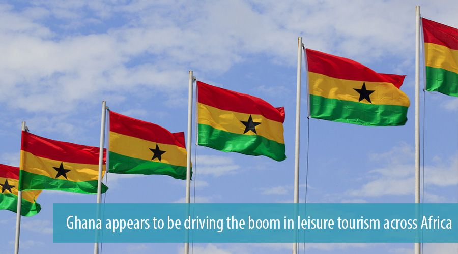 Ghana appears to be driving the boom in leisure tourism across Africa