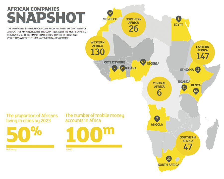 African companies snapshot