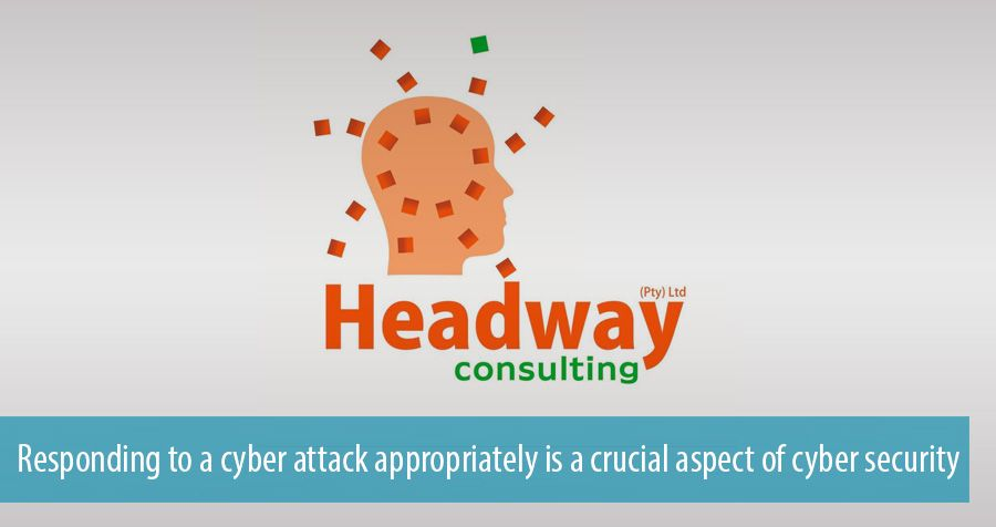 Responding to a cyber attack appropriately is a crucial aspect of cyber security