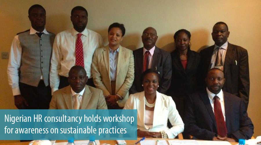 Nigerian HR consultancy holds workshop for awareness on sustainable practices