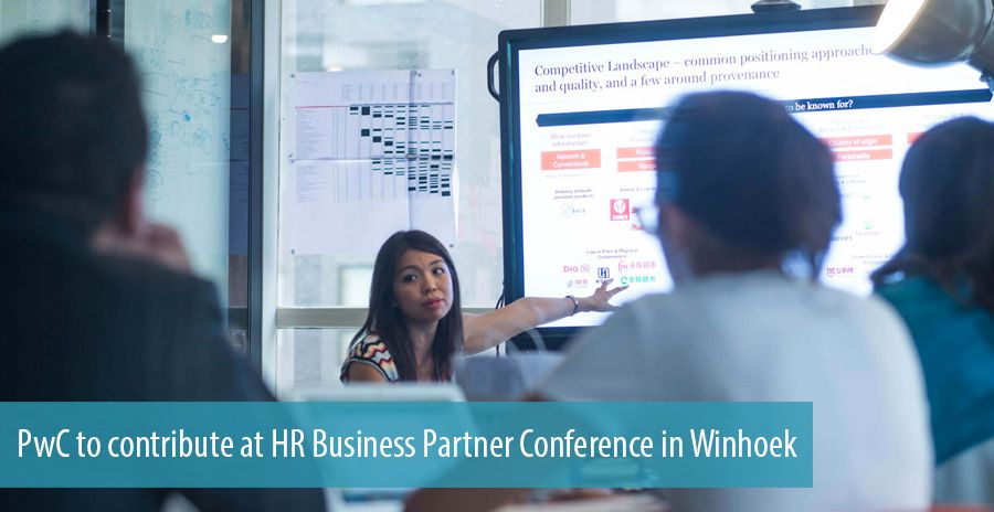 PwC to contribute at HR Business Partner Conference in Winhoek