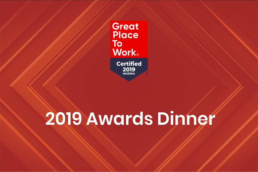 Great Place to Work Africa dinner 2019