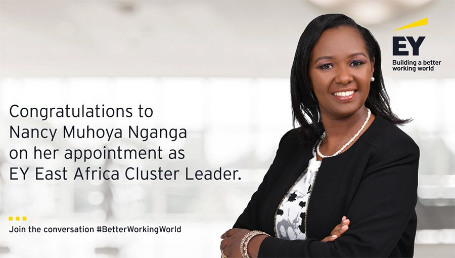 Nancy Muhoya to take over as Managing Partner at EY Kenya