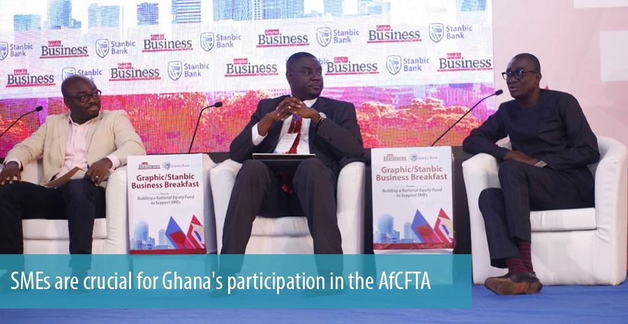 SMEs are crucial for Ghana's participation in the AfCFTA
