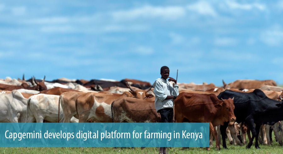 Capgemini develops digital platform for farming in Kenya