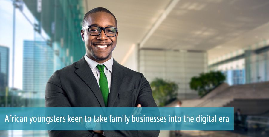 African youngsters keen to take family businesses into the digital era