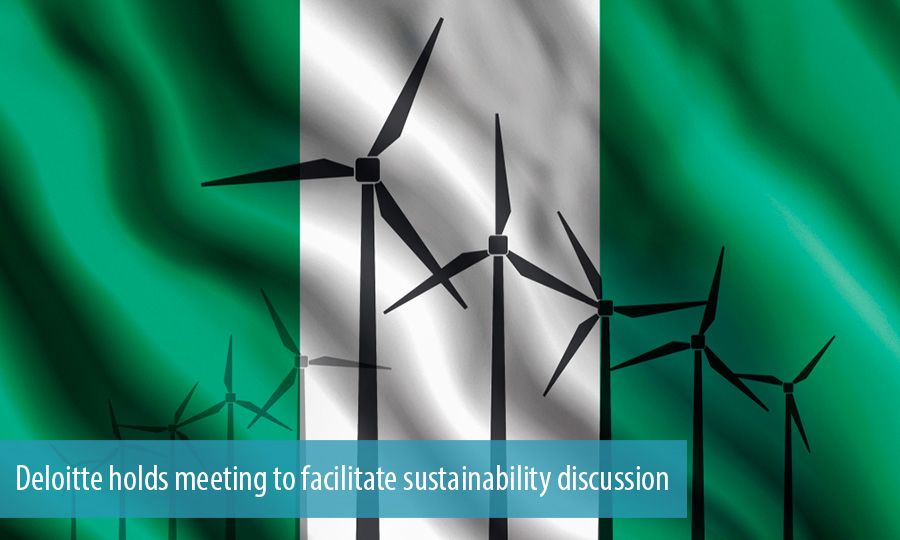 Deloitte holds meeting to facilitate sustainability discussion